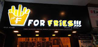 F  FOR FRIES